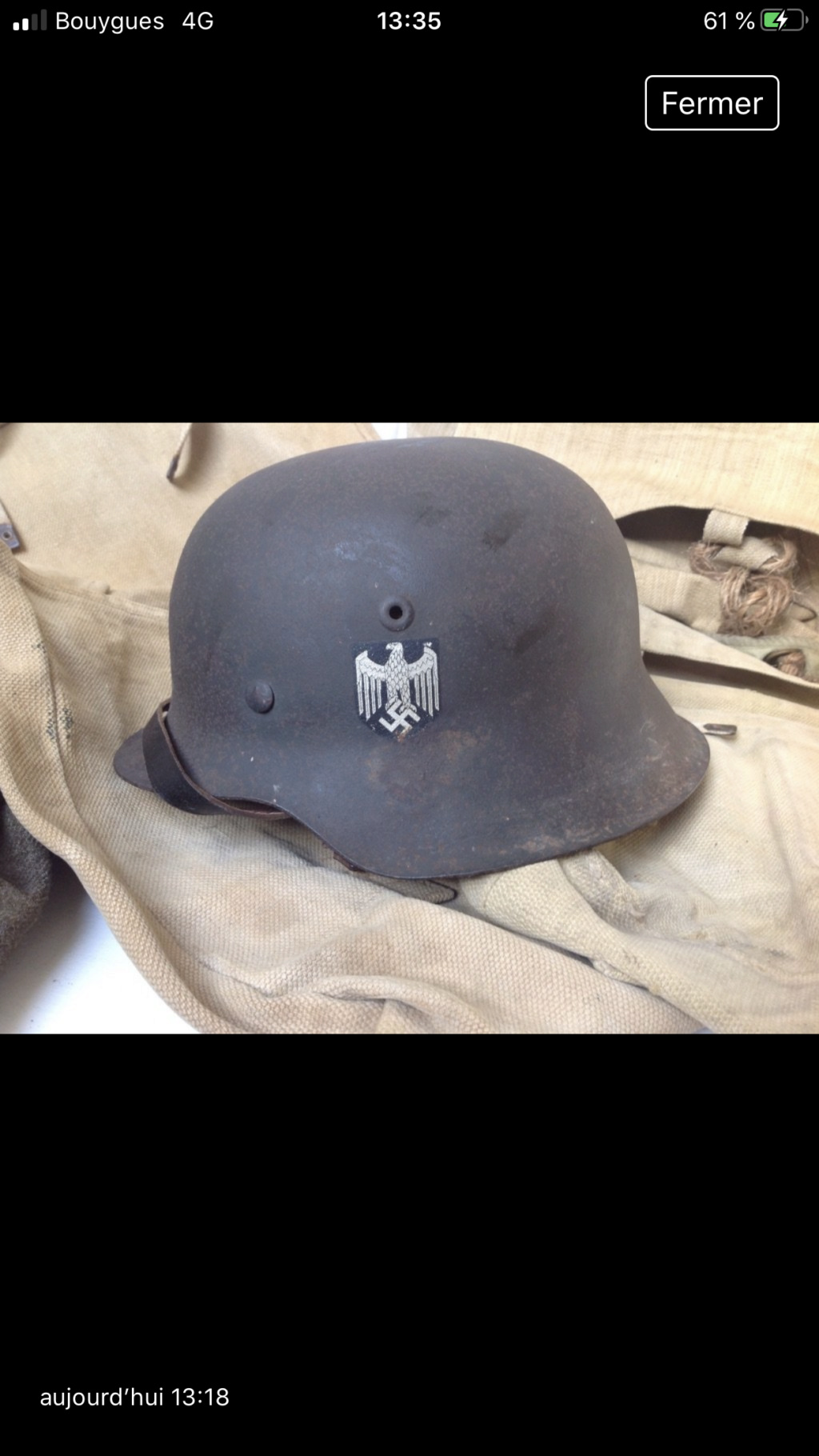 Casque allemand m42 Heer  Db8cec10
