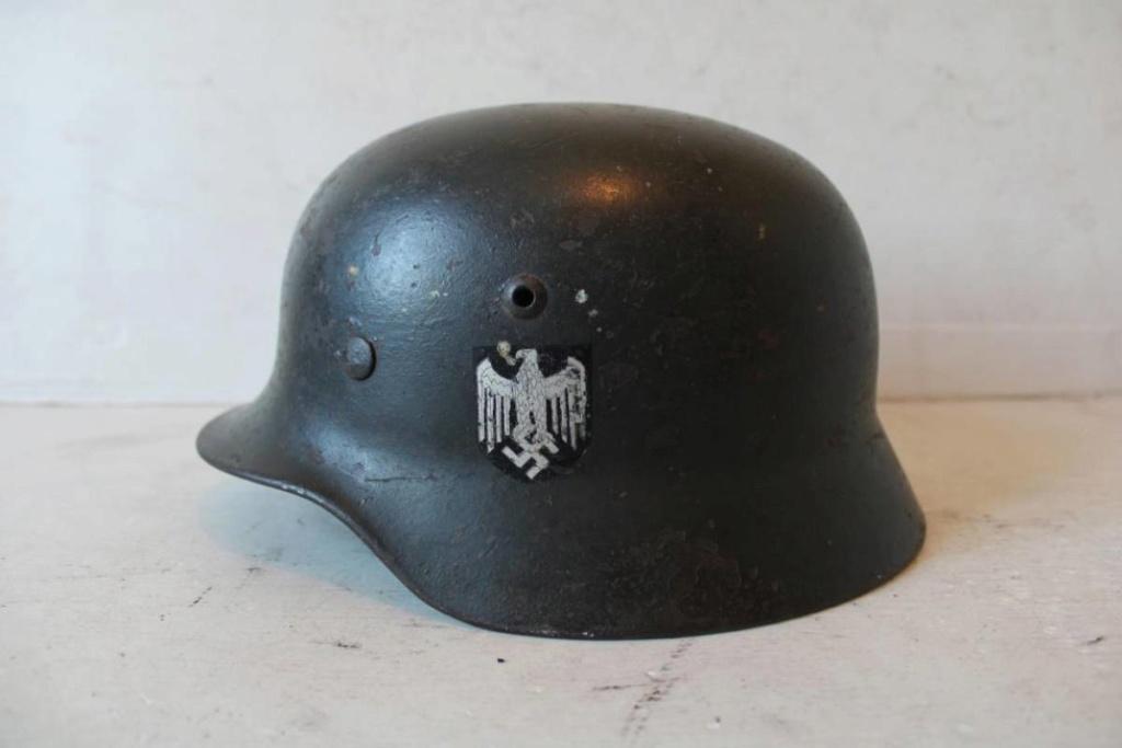 Casque allemand m35 reconditionné 40 Dda89410