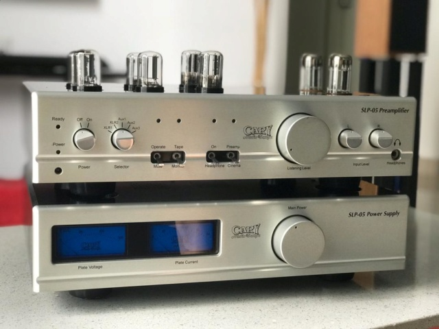 Cary Audio SLP-05 Preamplifier Cary110