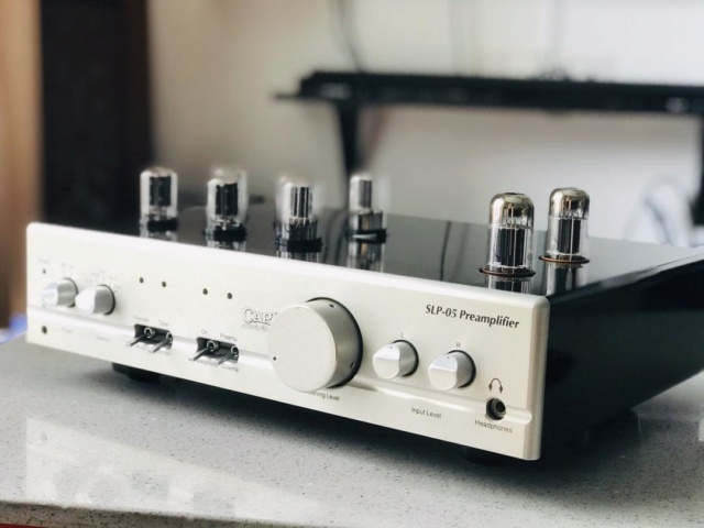 Cary Audio SLP-05 Preamplifier Cary210
