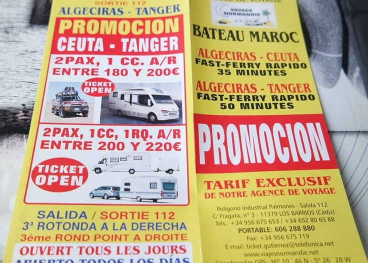 [Maroc/Le Bateau]   Prix de traversée camping car PL 00000012