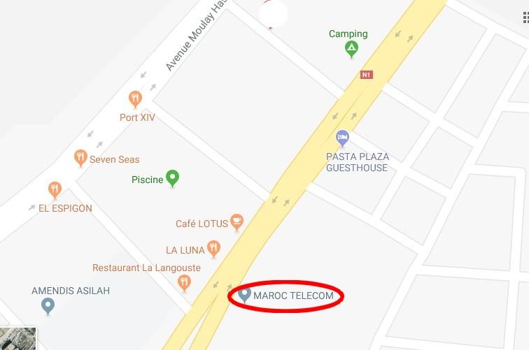 [Maroc/Internet, WiFi, Tel]  ou acheter les cartes de téléphone 114