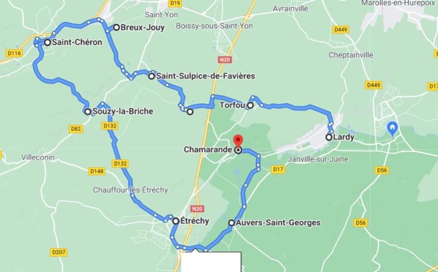 [Autres voyages/France] Découverte du sud de l'ile de France 2_circ10