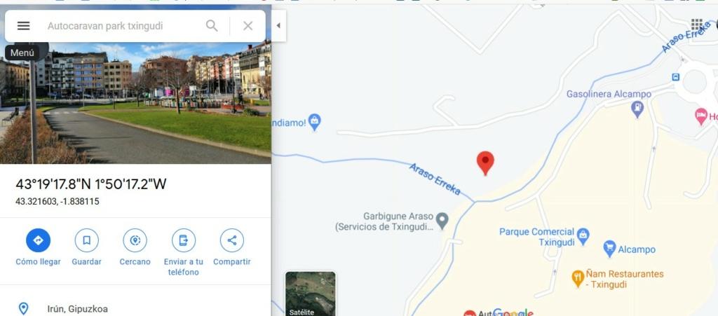 [ESPAGNE]  arrêt entre Saint Jean de luz et San Sébastien  Autoca11