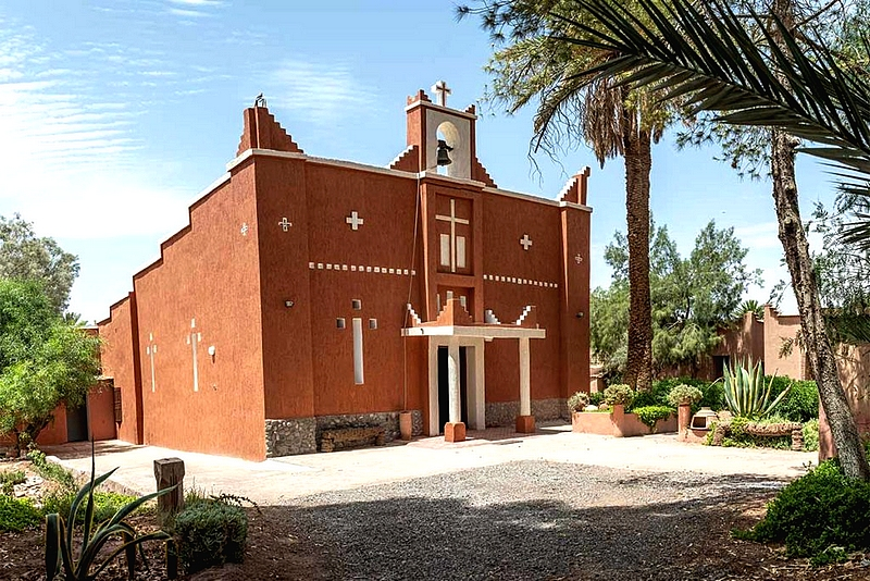 [Maroc/Histoire, Accueil...] église ouarzazate Eglise11