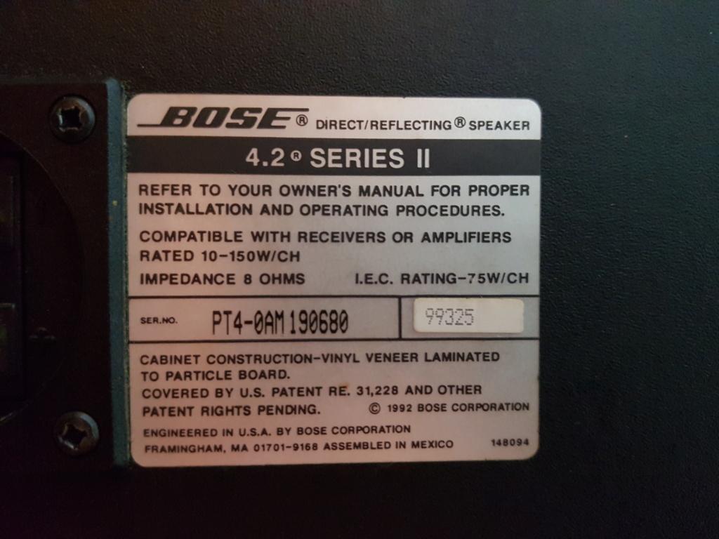 Bose 4.2 Series II Back10