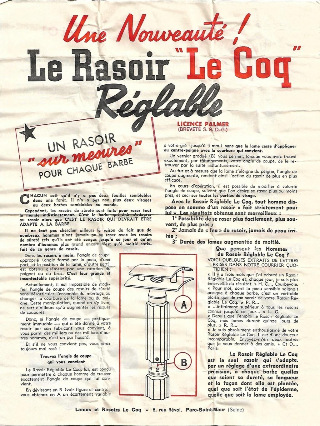 Le Coq réglable licence Palmer (années 1930-1950 ?) - Page 5 Le_coq10