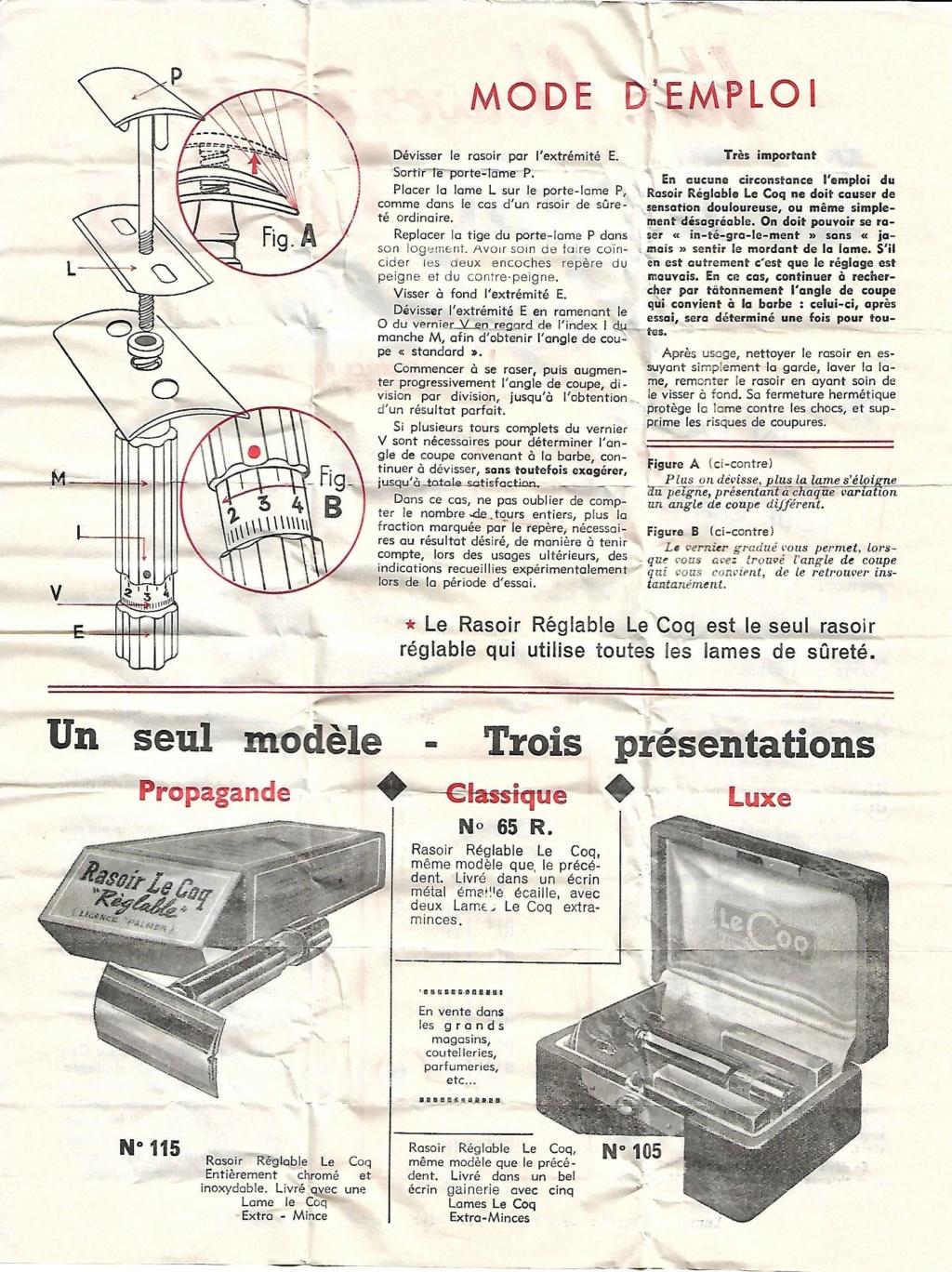 Le Coq réglable licence Palmer (années 1930-1950 ?) - Page 5 Le_coq11