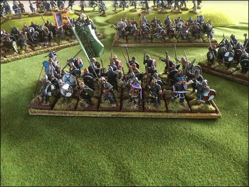 Vends armée peinte saxon Foundry et un peu de Crusader Saxon510