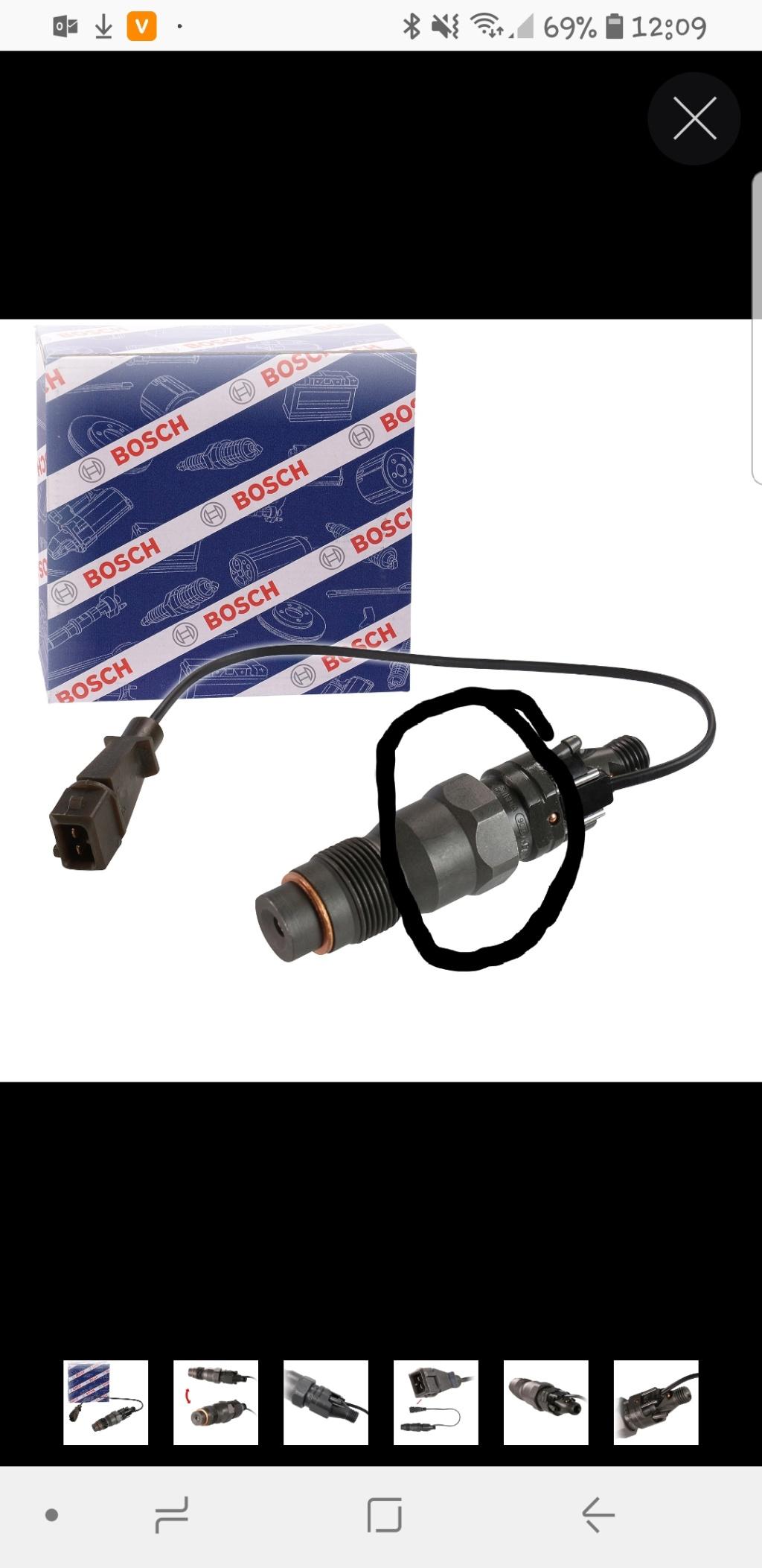 [ bmw e36 325tds M51 an 1994 ] problème injecteur pilote  20190210