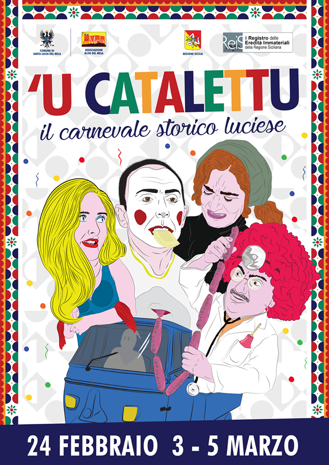 U Catalettu - il Carnevale storico luciese Catale10
