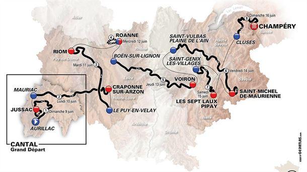 Polla Critérium du Dauphiné - Valida 26/42 20190610