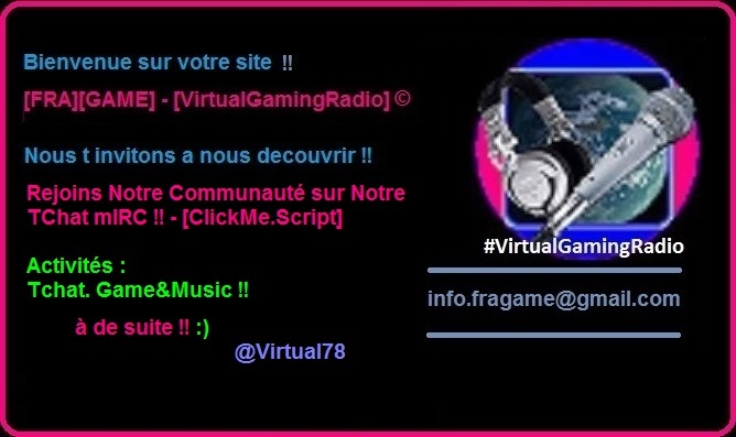 [FRA][GAME]-[VirtualgamingRadio]
