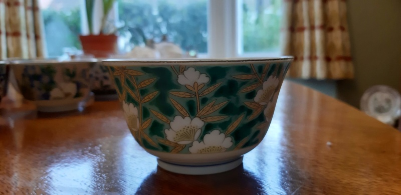Can you tell me anything about these Japanese bowls please? 20190414