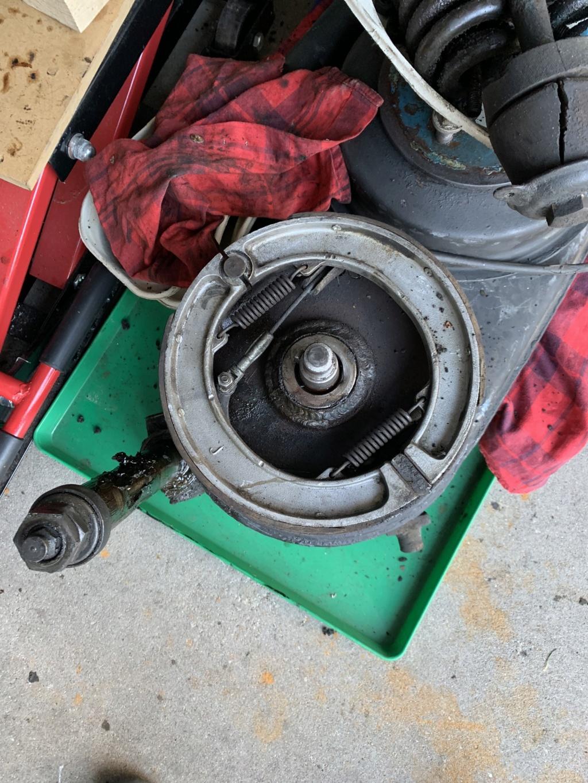 Antriebseinheit und Bremse Bremse10