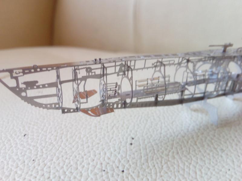 Ossature d'un U-Boat - Jasmin modèle 1/350 - Img_2786