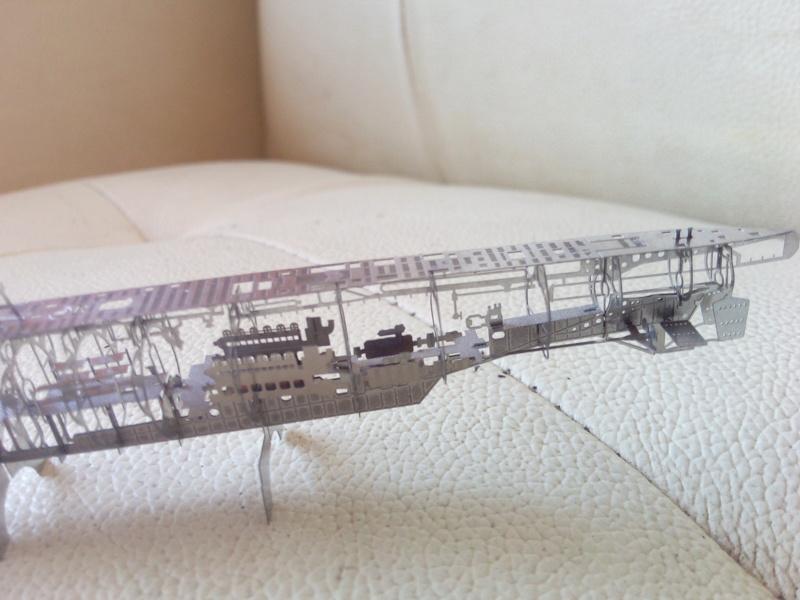 Ossature d'un U-Boat - Jasmin modèle 1/350 - Img_2788