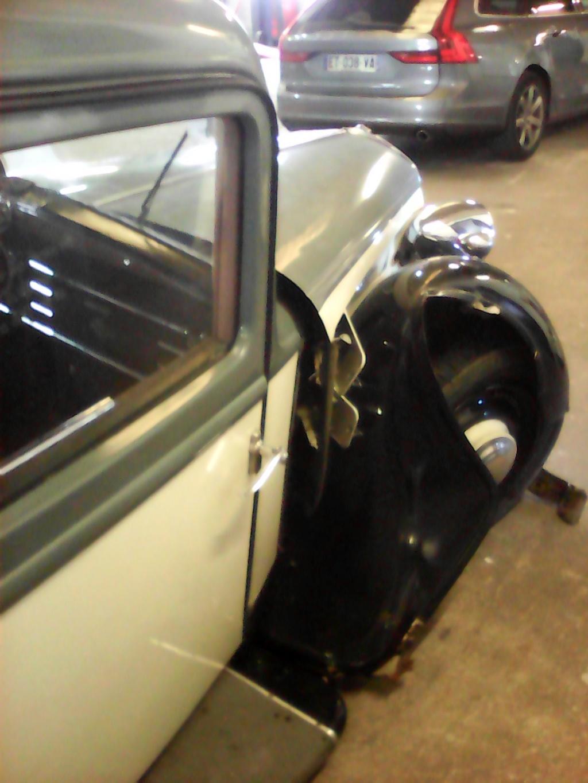Notre Ami Tassin Alain victime d'un accident de la circulation avec sa 01, cet après-midi N510