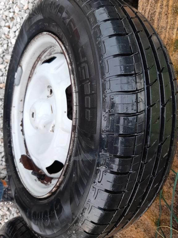 Vds 5 jantes tôles SAMBA GLS montées pneus 165/70/13 neufs 20191118