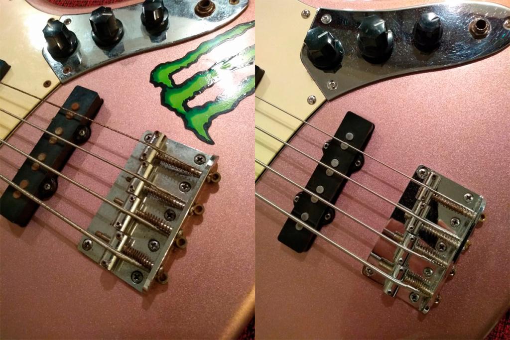 SX Jazz Bass (recuperação simples e caseira) 0410