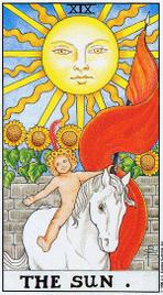 Солнце значение карты Solnce10