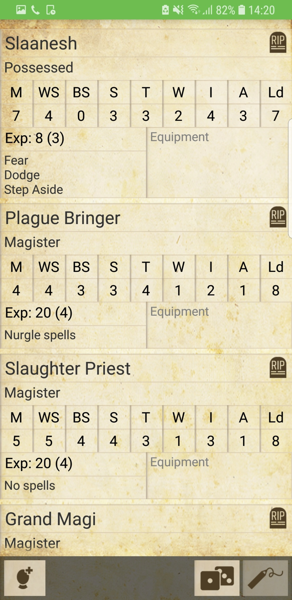 possessed - Possessed god dedicated warbands alternate rules Screen11