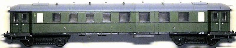 Die Einheits-Eilzugwagen als H0-Modelle 00-bc410