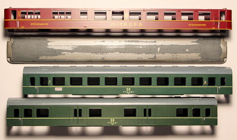 Die Neubau-Schnellzugwagen AB4üpe-56 und B4üpe-56 der DR 110