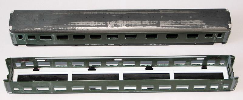 Die Neubau-Schnellzugwagen AB4üpe-56 und B4üpe-56 der DR 510