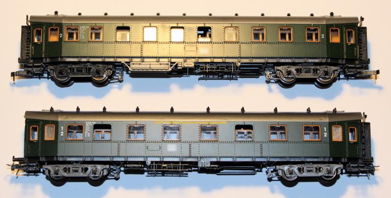 Bau eines ABC4ü-23 der Saar-Eisenbahn (H0) Abc4z-11