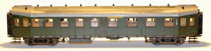 Bau eines ABC4ü-23 der Saar-Eisenbahn (H0) Abc4z-13