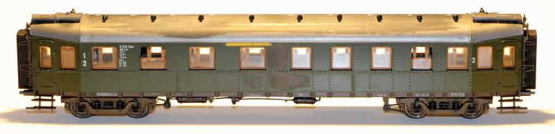 Bau eines ABC4ü-23 der Saar-Eisenbahn (H0) Abc4z-14