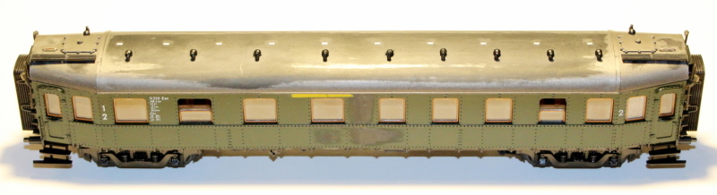 Bau eines ABC4ü-23 der Saar-Eisenbahn (H0) Abc4z-15