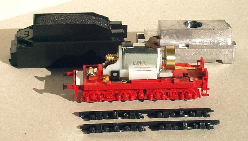 BR 03 Altbau auf Piko-Basis mit Revell-Tender - ein altes Projekt Bild_210