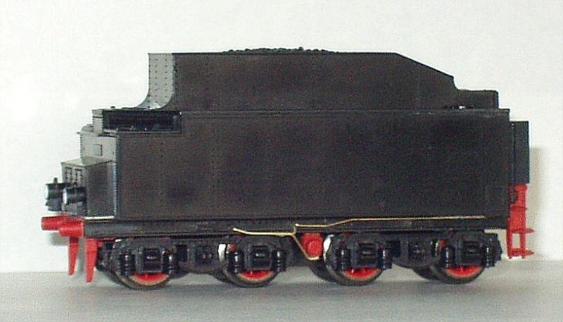 BR 03 Altbau auf Piko-Basis mit Revell-Tender - ein altes Projekt Bild_610