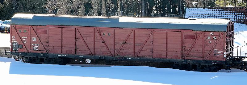 Güterzug-Steuerwagen GDS145 Brombe10