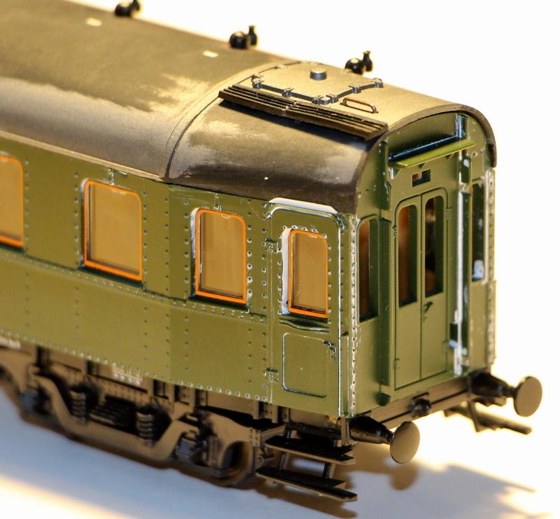 Bau eines ABC4ü-23 der Saar-Eisenbahn (H0) C4z-2111