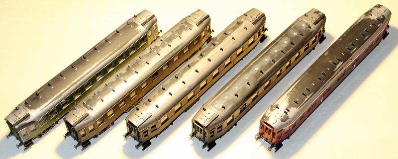Bau eines ABC4ü-23 der Saar-Eisenbahn (H0) C4z-2112