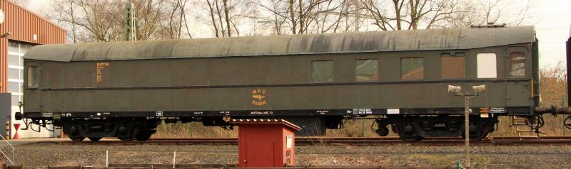 Spurensuche 2 - Schnellzugwagen der Baujahre 1922 - 1939 C4z-2210