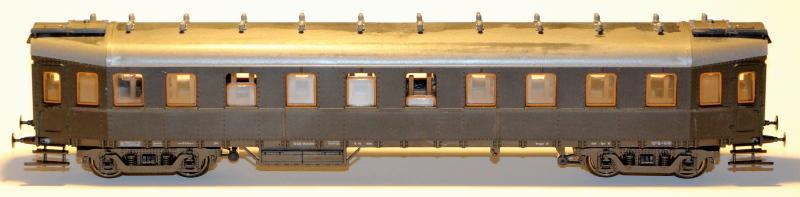 Bau eines ABC4ü-23 der Saar-Eisenbahn (H0) C4z-2211
