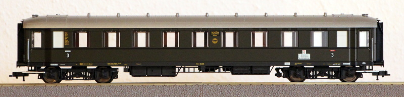 Die Einheits-Schnellzugwagen als H0-Modelle Fl563110