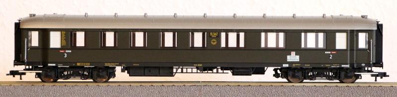 Die Einheits-Schnellzugwagen als H0-Modelle Fl563111