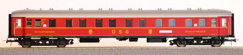 Die Einheits-Schnellzugwagen als H0-Modelle Fl563410