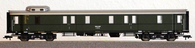 Die Einheits-Schnellzugwagen als H0-Modelle Fl845810