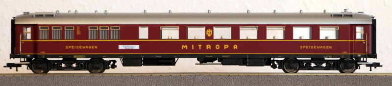 Die Einheits-Schnellzugwagen als H0-Modelle Fl845812