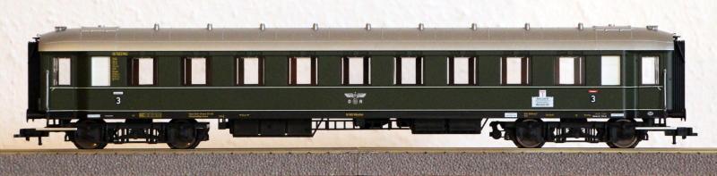Die Einheits-Schnellzugwagen als H0-Modelle Fl845813