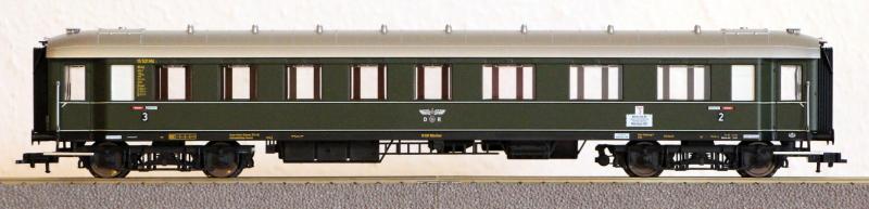 Die Einheits-Schnellzugwagen als H0-Modelle Fl845814