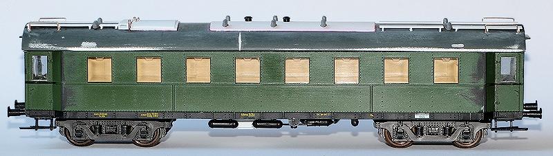 Die Einheits-Schnellzugwagen als H0-Modelle Heizwa17