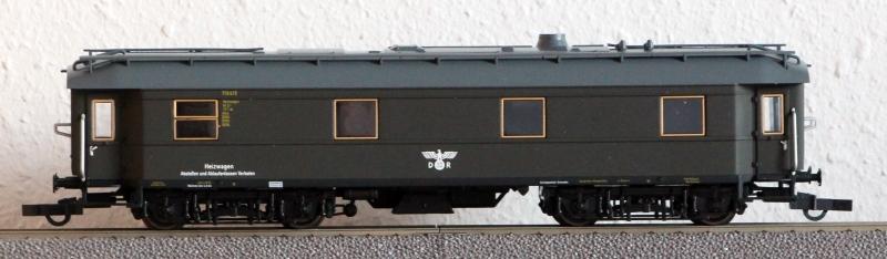Die Einheits-Schnellzugwagen als H0-Modelle Heizwa18