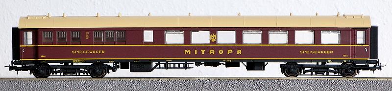Die Einheits-Schnellzugwagen als H0-Modelle L3827010